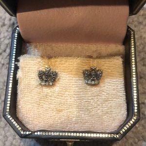 Juicy Couture Crown Stud Earrings